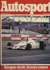 AUTOSPORT OTTOBRE 11th 1979 * USA GRAND PRIX East & Rally San Remo & AURORA F 1 *