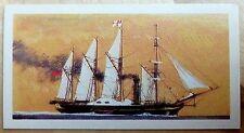 Brooke Bond Saga of Ships card 27. SS Great Western. Isambard Kingdom Brunel.