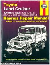 Haynes Toyota Land Cruiser 1968-1982 Auto Repair Manual : H92055