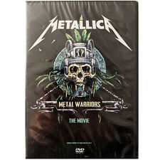 METALLICA METAL WARRIORS The Movie. New DVD.