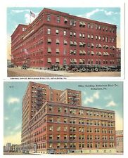 Postcards:Bethlehem Steel Pa General Office Building-Interesting Message on back