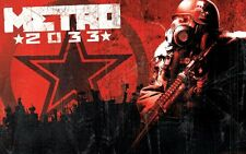 POSTER METRO 2033 REDUX 2034 LAST NIGHT ARTYOM MOSCA HORROR VIDEOGAME PC PS4 #14