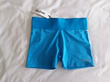 Skins - Ladies DNAmic Primary Gym Shorts - BNWT - Size S - Ocean - RRP £30