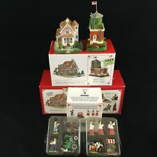 1998 Liberty Falls Anabelle Phillips Home and Water Tower 8 Pewter Accessories