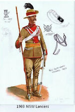 1903 NSW Lancers Trooper postcard  - Phil Rutherford 1994