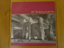U2 THE UNFORGETTABLE FIRE ORIGINAL VINYL LP ISLAND U2 5 RECORD NEAR MINT