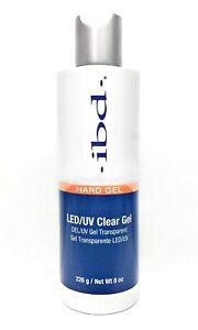 IBD Hard Gel LED/UV CLEAR GEL 8 OZ #603080