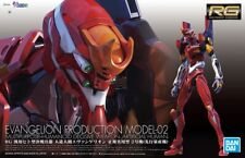 RG Real Grade Neon Genesis Evangelion Unit EVA-02 1/144 model kit Bandai