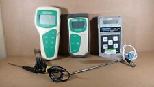 (2) Oakton pH 6 / 11 Meters and Omega Thermometer 450 APT with probes