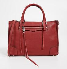 Rebecca Minkoff Regan Satchel Tote Bag Scarlet Medium NEW
