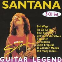 Santana - Guitar Legend (2005)  3CD Fat Box NEW/SEALED  SPEEDYPOST