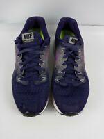 Nike Women's Air Zoom Pegasus 34 Purple Running Shoes Size 8.5