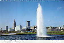 postcard USA  Ohio Bicentenial Park  Civic Cntre Drive Columbus unposted