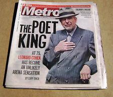 11-11-09 The Metro Leonard Cohen