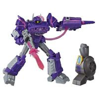 Transformers Toys Cyberverse Deluxe Class Shockwave Action Figure