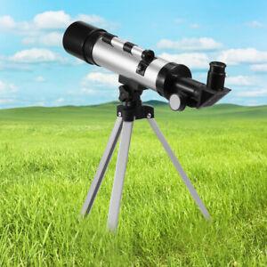 TELESCOPIO MONOCULARE ASTRONOMICO RIFRANGENTE CON TREPPIEDE CAVALLETTO E6C7