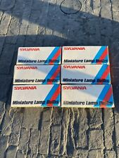 Sylvania Miniature Light Bulbs 327 Lot Of 6 Boxes