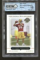2005 Aaron Rodgers Topps #431 RC Gem Mint 10 Green Bay Packers MVP