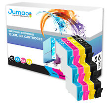 12 cartouches Jumao compatibles pour HP Photosmart e-All-in-One 7510 6520 6525