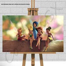 Tinkerbell Canvas Print Picture Fairy Fairies Wall Art For Girls Childs Bedroom
