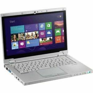"Panasonic CF-AX3 4th Gen i5 11.6"" Toughbook Laptop 4Gb RAM 128GB SSD Win10 #40"