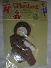 New Seasons of Cannon Falls Genuine Monkeez Sock Monkey Clothes Pilot Outfit