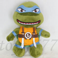 """Teenage Mutant Ninja Turtles Leonardo Da Vinci 8"""" Stuffed Animal Leo Plush Toy"""