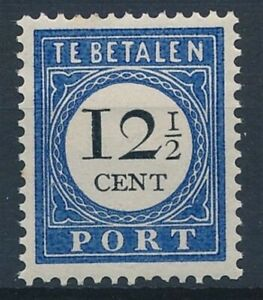 [34916] Netherlands 1894/1907 Good postage due stamp Very Fine MH
