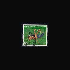 Ivory Coast, Sc #519c, Used, 1979, Cricket, insect, SDDAS8Z-9
