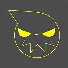 Soul Eater Outline Sticker / Decal -Choose Color & Size- Maka Albarn, Black Star