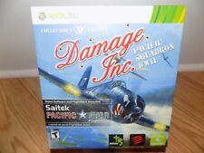 Damage Inc. Pacific Squadron WWII Collector's Edition Xbox 360 BRAND NEW in BOX