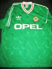 Vintage Ireland Adidas 1990 1991 Football Jersey Irish Shirt Trikot Soccer XL