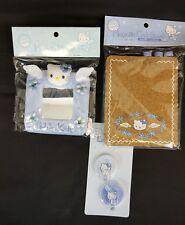Sanrio HELLO KITTY Blue ANGEL Locker HOOKS, Magnetic CORK BOARD & MIRROR NEW