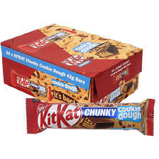 Nestle Kit Kat Chunky Cookie Dough Limited Edition - Box Of 24 x 42g - BBE 09/21