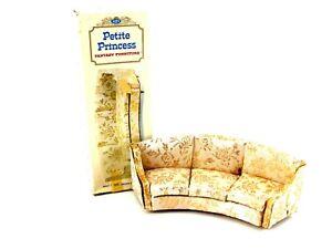 Ideal Petite Princess CURVED SOFA Fantasy Furniture in Box 1960s 4407-3 300