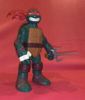 """TMNT Raphael Teenage Mutant Ninja Turtles 10"""" Figure 2014 Playmate Battle Shell"""