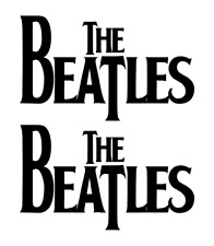 The Beatles DECALS, Vinyl Stickers Die Cut (BUY 1 GET 2) Free shipping