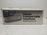 Vintage *NEW IN BOX* Tandy CT-1033 Cellular Transportable Telephone W/ All...