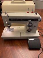 Sears Kenmore Zig Zag Free Arm Sewing Machine All Metal 158.19412  1970s EUC