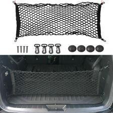 Rear Cargo Organizer Storage Elastic String Net Mesh Bag Pocket Car Accessories