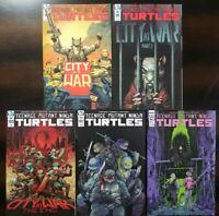 Teenage Mutant Ninja Turtles #98 99 100 101 102 FIrst Print 5 Comic Lot IW 2020
