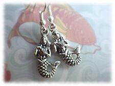 Ohrringe Meerjungfrau - Ohrhänger mermaid Nixe Undine surfer beach Meer Strand