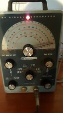 Heathkit IG-102 RF Signal Generator with Test Cable