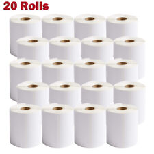4x6 350 20 Rolls Direct Thermal Labels Shipping For Zebra 2844 2642 Eltron Zp450