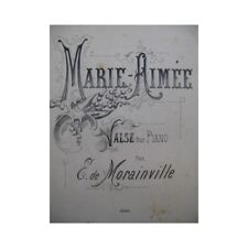 Mccartney E. Mary loved Piano 1886 partition sheet music score