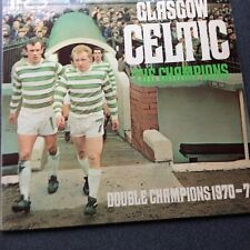 "Glasgow Celtic - The Champions 12"" vinyl Lp 1971"