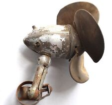 Vintage Car Fan, Hot Rod Rat, defroster, untested, PARTS, REPAIR, rubber blades