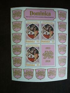 Stamps - Dominica - Scott# 570 - Souvenir Sheet