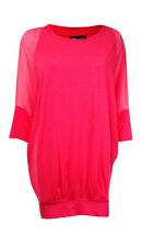 Coco Reef Women's Dolman Sleeve Banded Hem Coverup L/XL, Coral