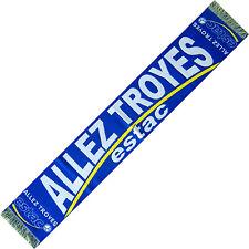 """ECHARPE """" ALLEZ TROYES """" scarf schal cachecol no drapeau maillot fanion ..."""